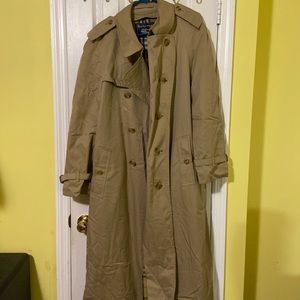 burberry trench jackets/coat,vintage xxl